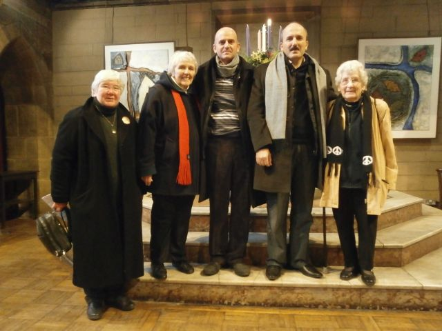 Visit from members of Jenin Cultural Centre, Palestine
