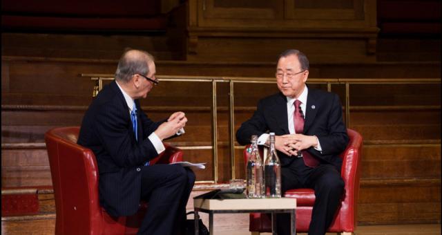 Secretary General and Sir Jeremy Greenstock